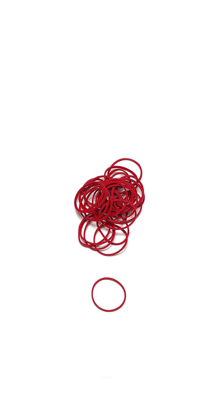 L/äufer elastici rotondi Rondella Scatola 50 g 65 mm /Ø Rot