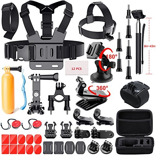 GoPro Accessories Kit For GoPro Hero 7 6 5 Black 4 3 Session Action Camera Accessories for Xiaomi Yi 4k AKASO Apeman SJ4000 5000 6000