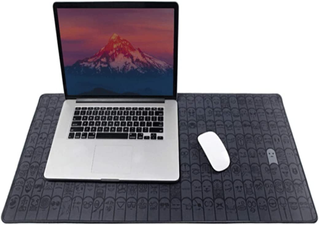 Office Desk Pad with Stitched Edge for PC//Laptop Shengshihuizhong Mouse Pad Gaming Mouse Pad Large Size 8003803mm//10003803mm Gray Latest Models