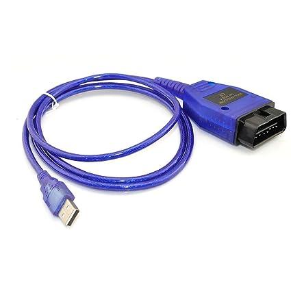 VAG-COM KKL 409.1 OBD2 USB Cable Scanner Scan Tool Audi VW SEAT Volkswagen