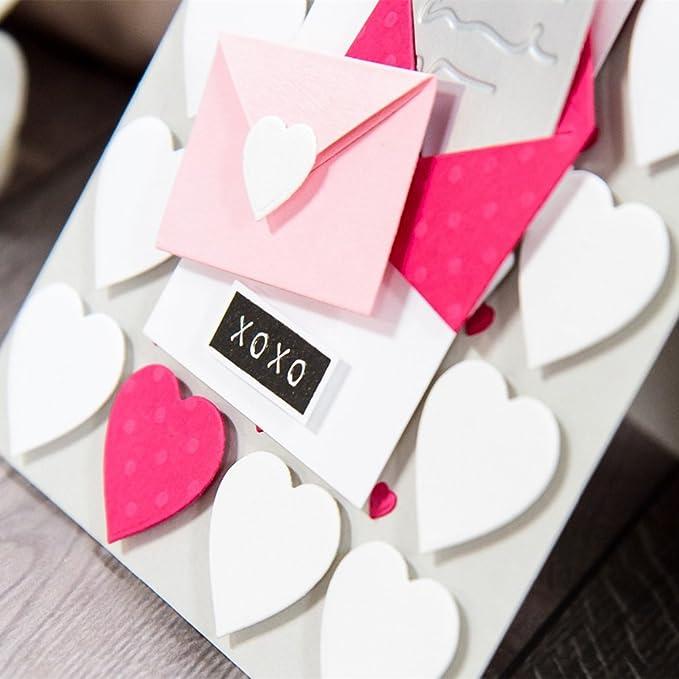 San Bodhi® Love Herz Umschlag Formen DIY Scrapbooking Fotoalbum ...