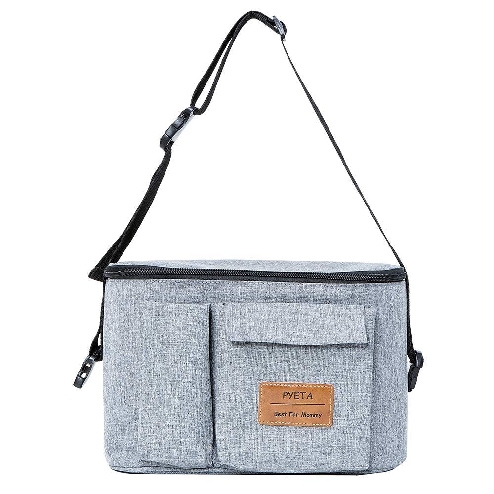 Diaper Bag Diaper Backpack Nappy Bag Waterproof Multi-Function Changing Bag Stroller Bag for Baby Care for Stroller Organizer RED
