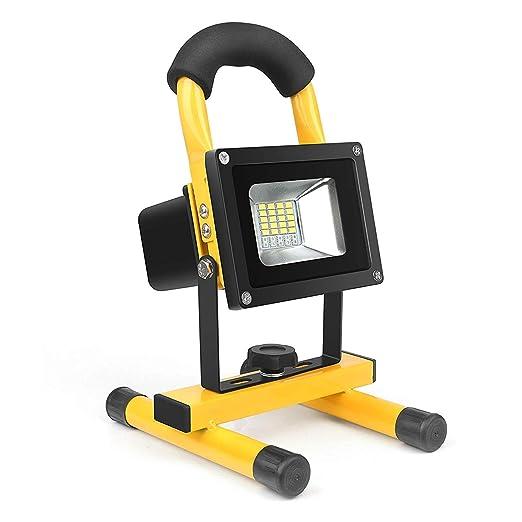 GENGJ Luz de inundación Lámpara de Trabajo Proyector LED portátil ...