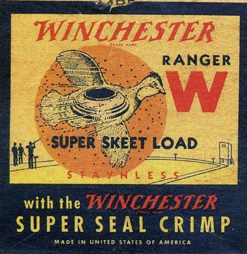 Winchester Ranger Skeet Shooting Coaster Set - Ammo Box