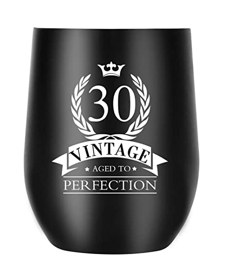 Amazon 30th Birthday Gifts For Women Men Aged To Perfection Coffee Mug Anniversary Gift Ideas Her Him Husband Wife Couple Parents