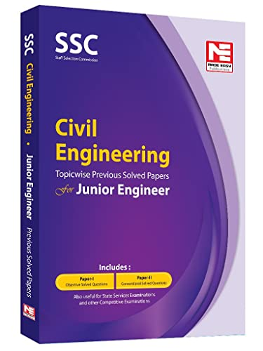 SSC JE: Civil Engineering - Topicwise Previous Solved Papers