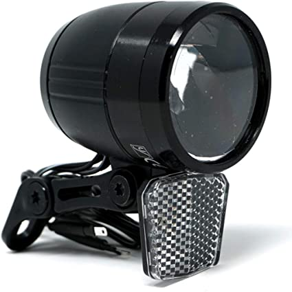 Cbk Ms Fahrradlicht Led Scheinwerfer 100 Lux Mit Sensor Schalter Und Standlicht Fahrradlampe Mit Stvzo Zulassung Sport Freizeit
