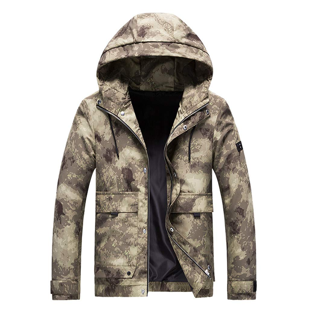 Camo Warrior Jacket Youth Winter City Coat Warm Outwear Motorcycle Jackets Military Pilot Jacket Windbreaker Overcoat by Amandaz Clothes