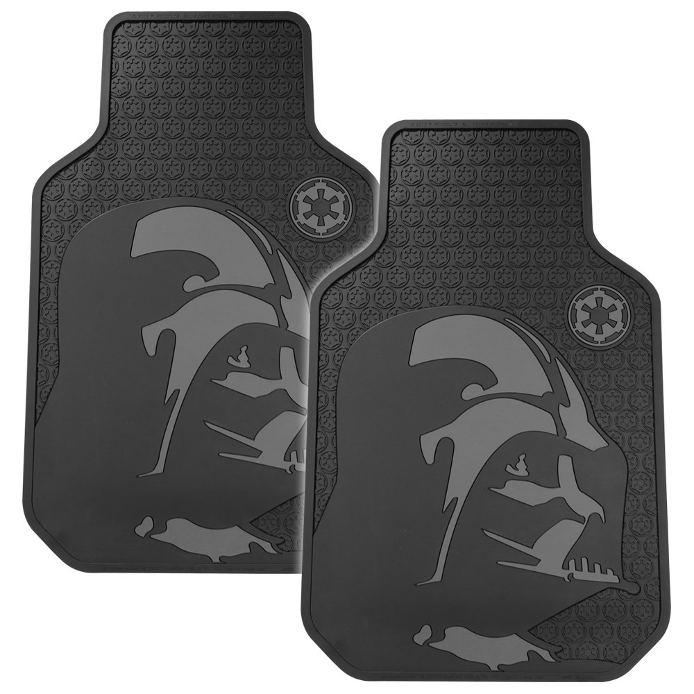 Floor mats dream cars - Plasticolor 001582r01 Star Wars Darth Vader Floor Mat Set