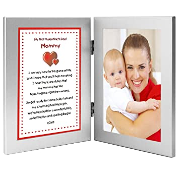 Amazoncom 1st Valentines Day Gift Mommy Poem From Newborn Baby