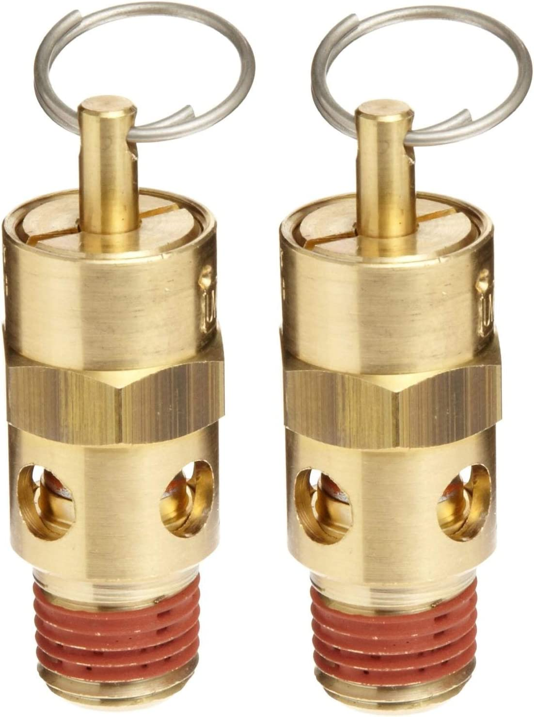 1//4 Male NPT 60 psi Set Pressure Control Devices ST Series Brass ASME Safety Valve