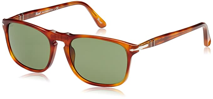 5b55782701ed0 Persol 3059S 96 4E Terra Di Siena 3059S Wayfarer Sunglasses Lens ...