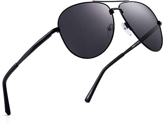 HD Polarized Occhiali da Sole Sunglasses Aviator Polarizzati Pilota UV400