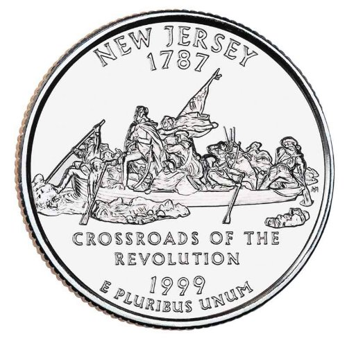 1999-P New Jersey BU State Quarter (1999 Jersey)