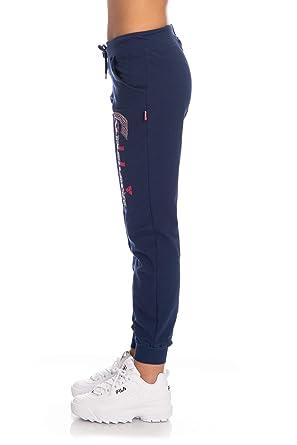 negozio online 04067 8000a Carlsberg Pantalone Tuta Donna blu: Amazon.de: Bekleidung