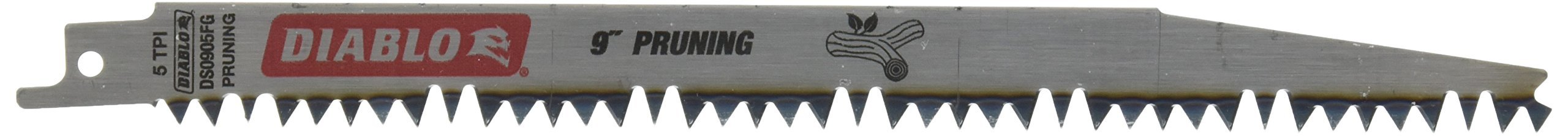 Freud DS0905FG5 Fleam Ground Reciprocating Blade, 9''