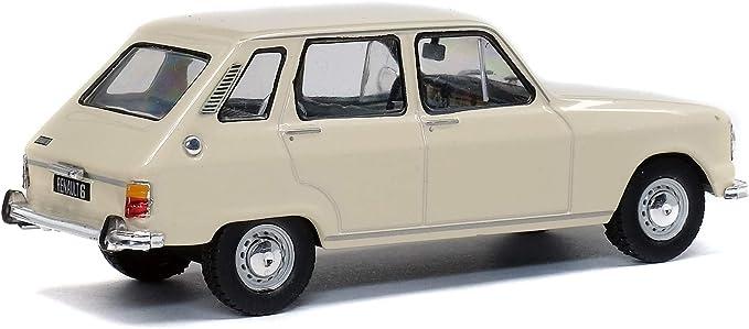 Renault 6 1970 beige maqueta de coche 1:43 solido
