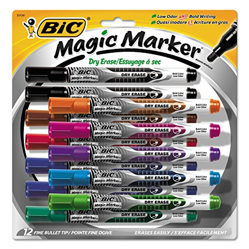 bic-low-odor-bold-writing-pen-style-dry-erase-marker-bullet-tip-assorted-12-gelipp121ast
