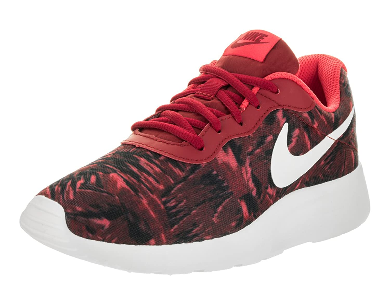 Nike tanjun red fish for Fish shoes nike