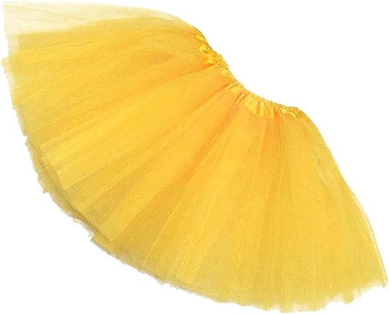 TOOGOO(R))Mujer/Adulta Ropa de Danza de organdi Tutu Falda de ...