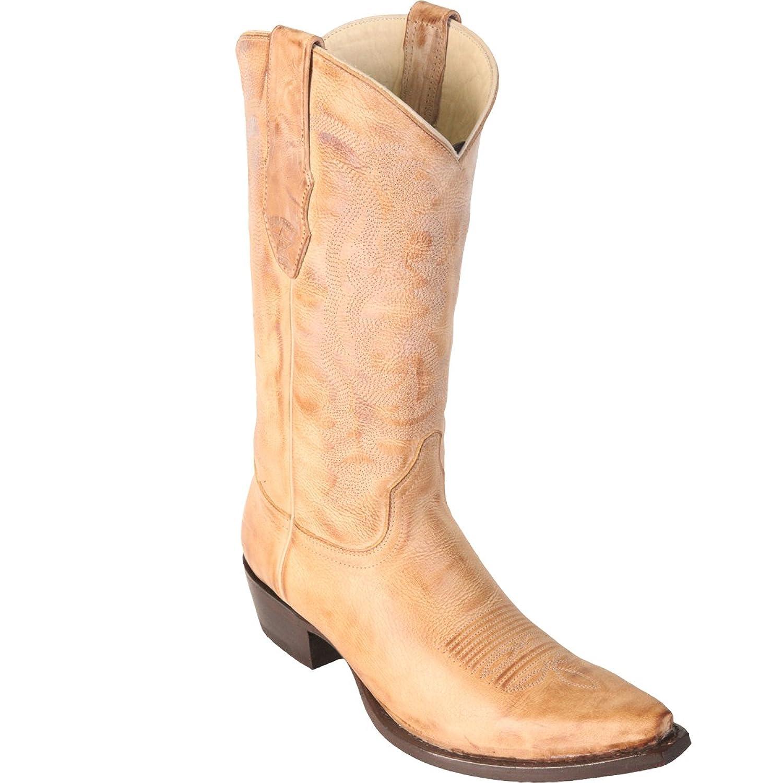Original Honey Vintage Finish LeatherSnip-Toe Boot