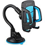 Car Mount Universal Cellphone Car Windshield Cradle 360 Rotating Flexible Holder for almost Phone - iPhone, Samsung, LG, HTC, Motorola, Sony