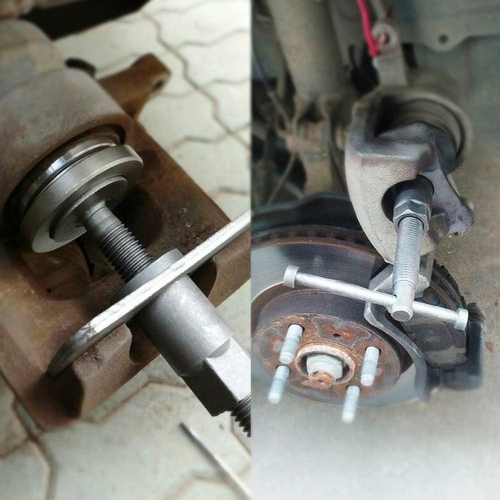 ajuste de la pinza de freno de viento retorno de pistones herramienta universal Aufun 22 piezas Juego de reposicionador de pistones de freno para coche