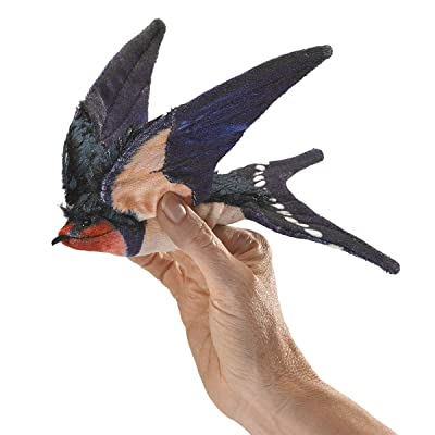 Folkmanis Barn Swallow Hand Puppet: Toys & Games