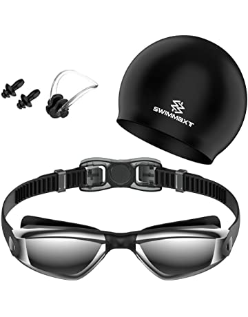 286a8aef38 Swim Goggles - Swimming Goggles with Nose Clip + Ear Plugs