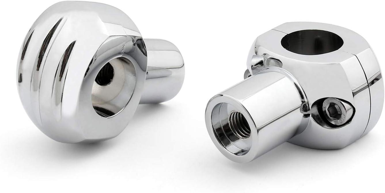 Artudatech con manubri da 25 mm Morsetti universali per manubrio per moto