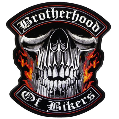 (Hot Leathers Brotherhood Of Bikers Patch (4