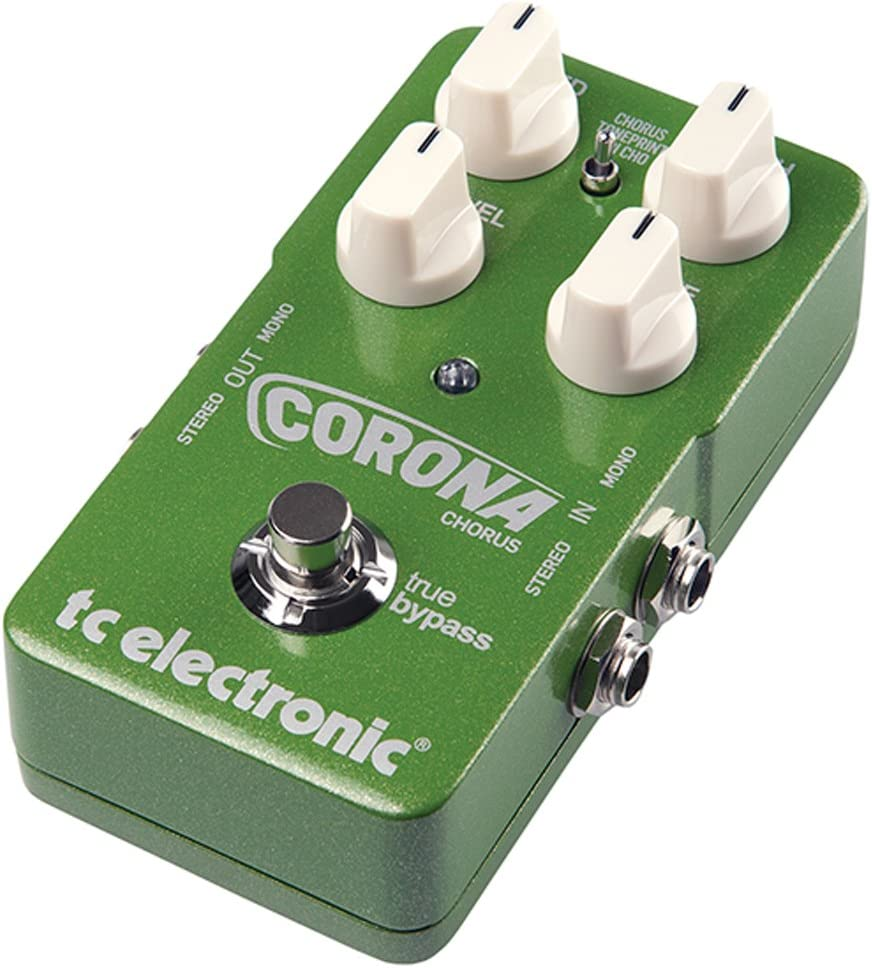 flessibile SCF e Tri-Chorus Stompbox TC Elettronica Corona Chorus
