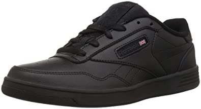 72e1f77b4e0 Reebok Men s Club MEMT Sneaker Black Dark Heather Solid Grey