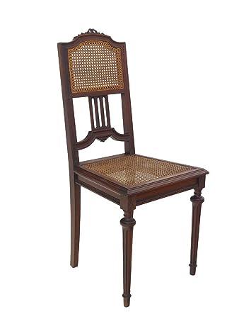 Hervorragend Antiker Stuhl Gründerzeit Um 1880 Massiv Eiche