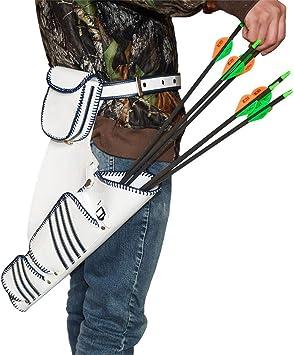 Bogenschießen Köcher Rückenköcher für Pfeile mit verstellbarem Gurt