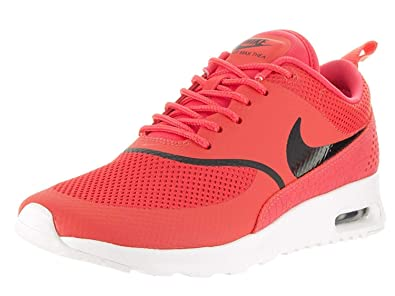 best sneakers 1f358 f4684 Image Unavailable. Image not available for. Colour  NIKE Women s Air Max  Thea Running Shoes, Ember Glow Black Summit White,