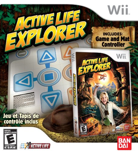 Active Life: Explorer With Mat - Nintendo Wii by Bandai Namco Entertainment America