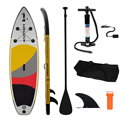 Climecare Hinchable Stand Up Paddle Allround Tarjeta, 3 Capa ...