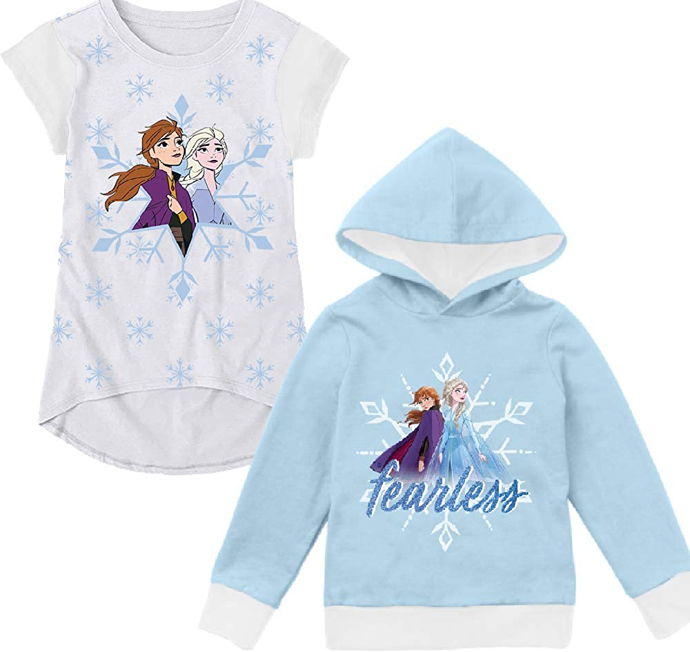 Disney Frozen ELSA Front Zip Hoodie//Jogger Pants Sizes 4//5 6//6X 7//8 10//12-NEW
