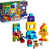 LEGO DUPLO THE LEGO MOVIE 2 Emmet and Lucy's Visitors from the DUPLO Planet 10895 Building Bricks, 2019 (53 Pieces)