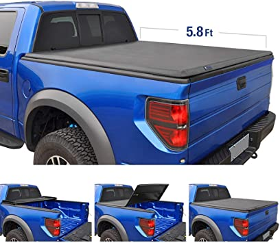 Gator ETX Soft Tri-Fold Truck Bed Tonneau Cover Chevy Silverado//GMC Sierra 5.5 bed 2019 Limited//Legacy MADE IN THE USA 59109 2014-18