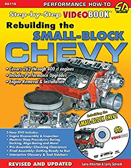 rebuilding the small block chevy step by step videobook larry rh amazon com small block chevy repair manual small block chevy repair manual