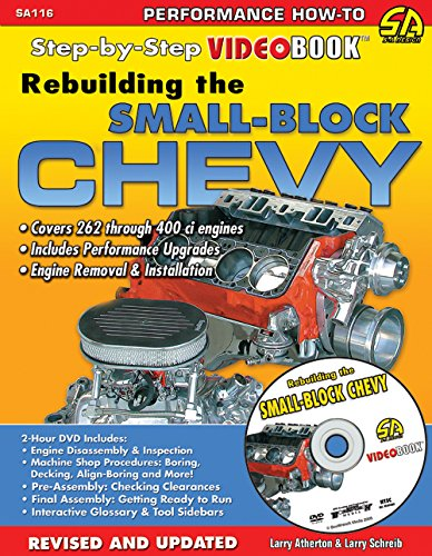 Rebuilding the Small-Block Chevy: Step-by-Step Videobook (Chevy Small Block Books compare prices)