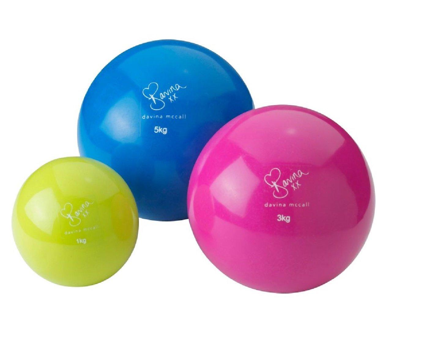 Balón Medicinal 3 Davina pelotas de juego.: Amazon.es: Deportes y ...