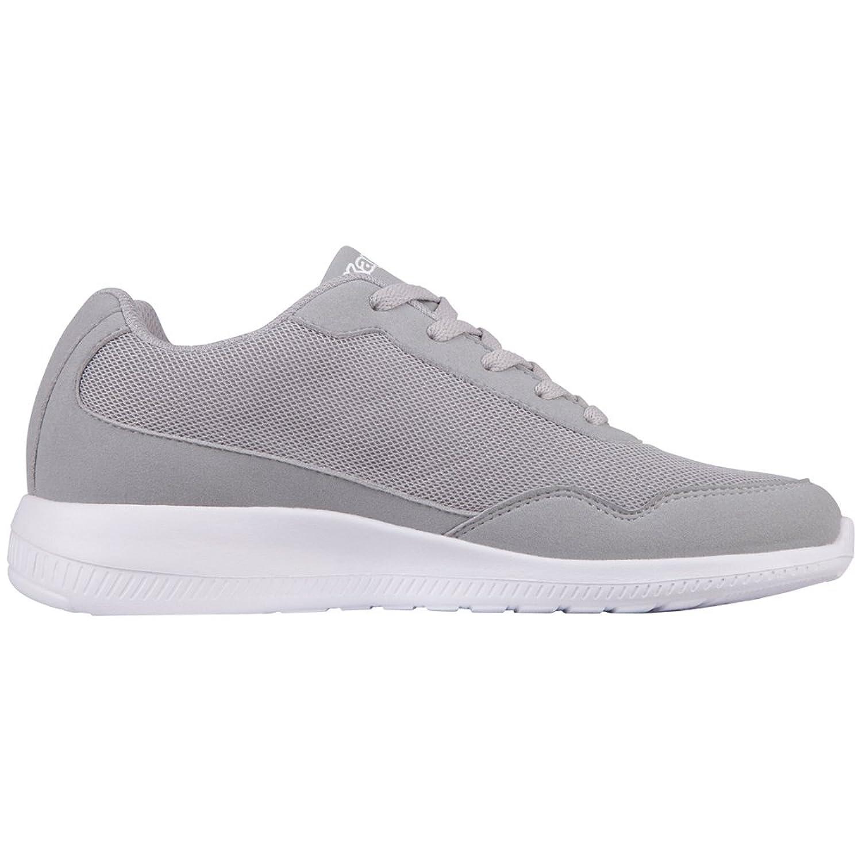 Kappa Grau Unisex-Erwachsene Follow Sneaker Grau Kappa (1410 l´Grey/Lime) 40 EU b3c702