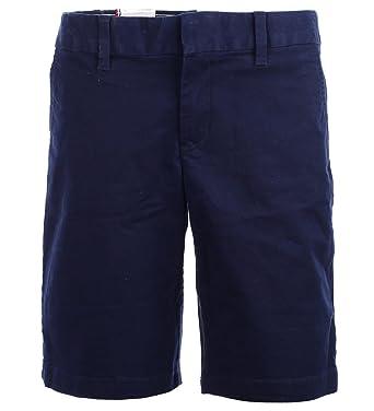 Tommy Hilfiger Damen Bermuda Short Kurze Hose Chino Shorts Navy Grösse 12  (L) cf02f51d8d