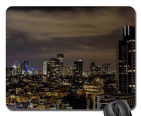 Amazon.com: Mouse Pads - Tel Aviv Israel City Skyline ...