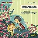 Dornröschen Hörbuch von  Brüder Grimm Gesprochen von: Christiane Hörbiger