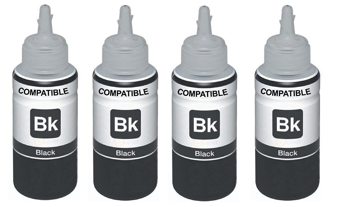 Skrill Print Cartridge Ink Sets for Epson L210 (Black) -Set