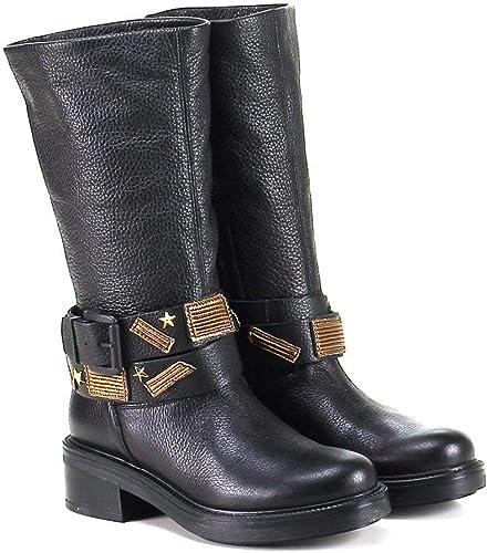 bottines plates noires femmes amazon